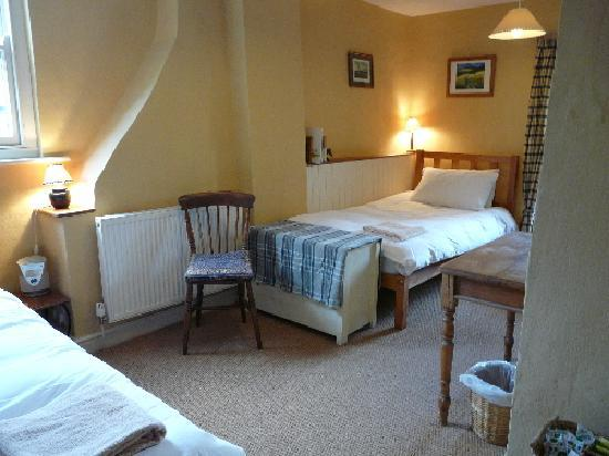Brecon, UK: Twin room