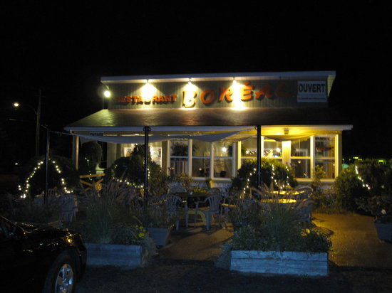 Grand-Mere, Canada: The restaurant from outside
