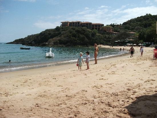 Hotel Ville La Plage: Playa Jao Fernandez. Buzios