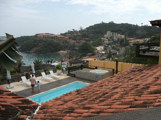 Hotel Ville La Plage: Vista desde la habitación del hotel
