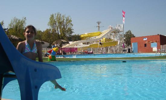 Siblu Villages - Le Montourey : Le coté piscine