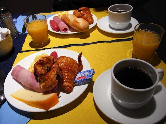 Hotel Lautrec Opera: 朝食