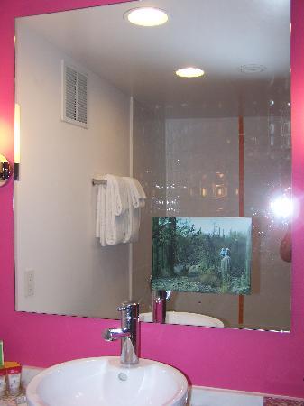Flamingo Las Vegas Hotel Hot Pink Bathroom