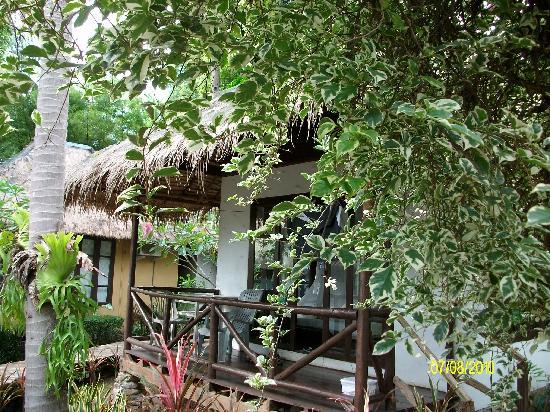 Kachapura: un bungalow dans la verdure