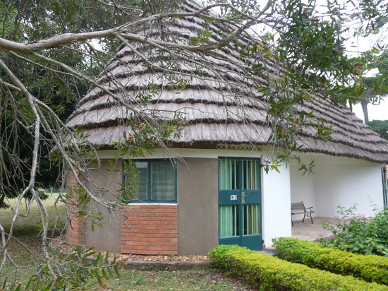 Bwindi Impenetrable National Park, ยูกันดา: Notre cottage