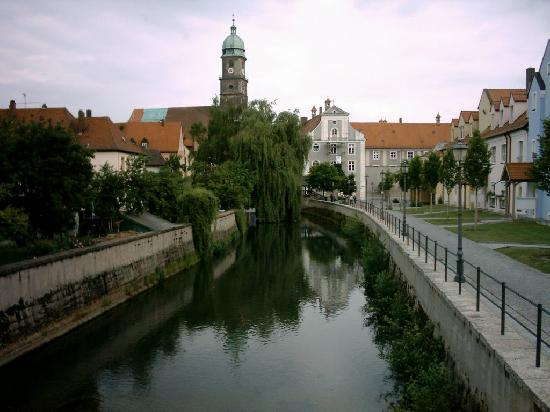 Amberg Germany  City new picture : Amberg, Germany: Vils River this was a view from my window