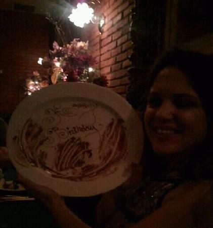 Hugo's Cellar: My happy birthday plate