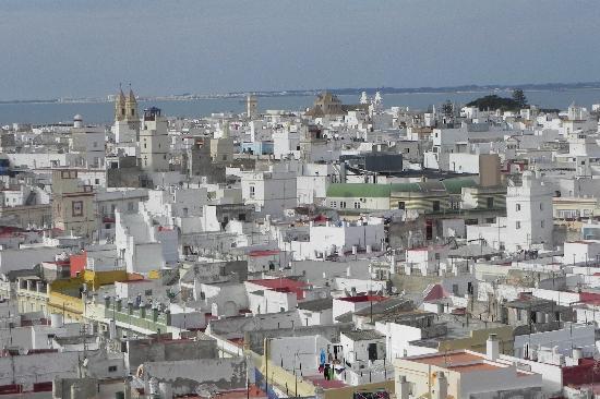Catedral de Cádiz: Cadis vom Turm