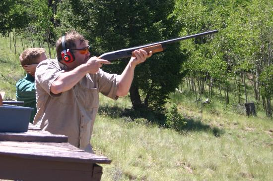 Elk Mountain Ranch: Trapshooting