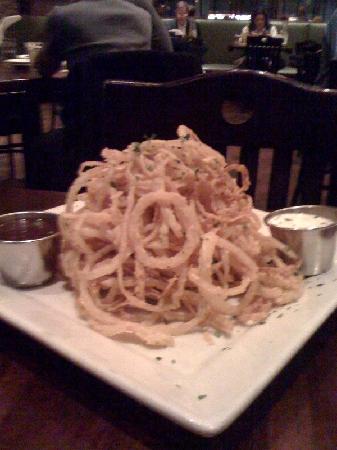 Weber Grill Restaurant: Onion Rings