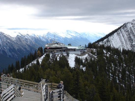 Banff Gondola: View