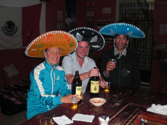 Hostel Amigo : In the hostel bar