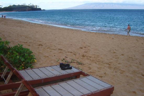 Aston Maui Kaanapali Villas: beach at the hotel