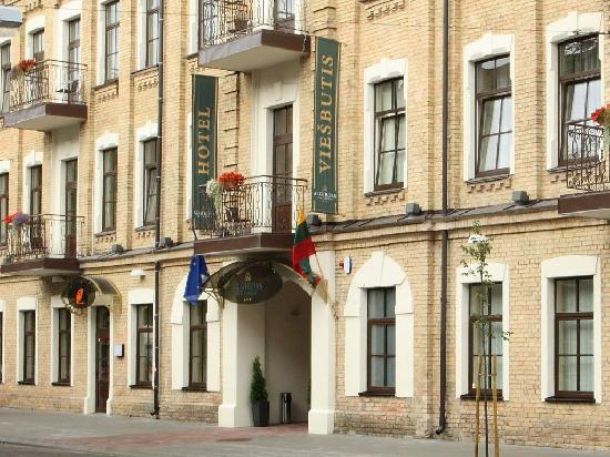 "Гостиница ""Algirdas City Hotels"": Entrance"