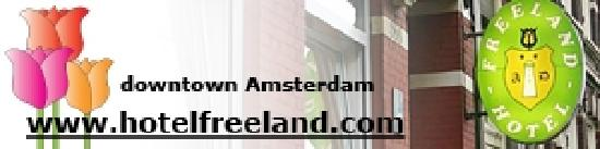 Freeland Hotel: Your home in downtown Amsterdam