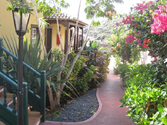 Oasis San Antonio: Eingang zum Apartment