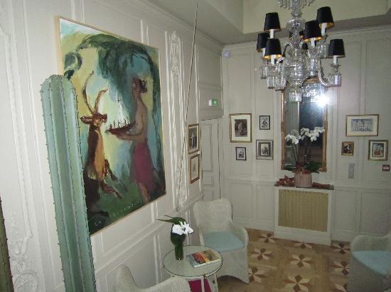 La Maison de Lucie : Sitting Room
