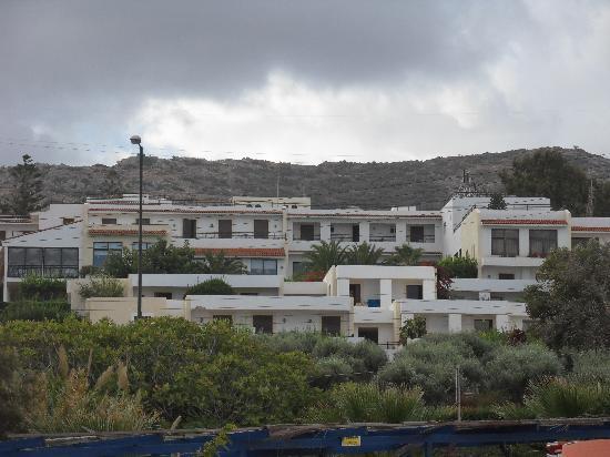 King Minos Palace Hotel: das Hotel vom Strand