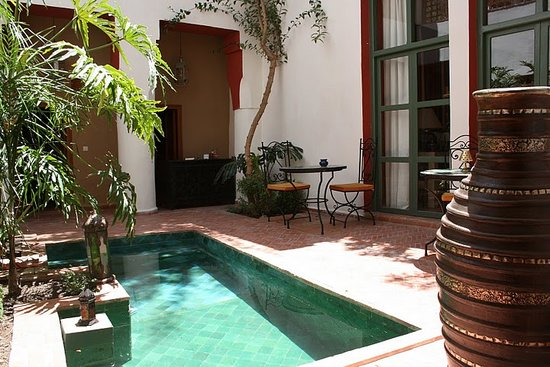 Riad Tafilag: Le patio