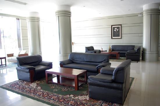 Top Tower Hotel Kigali: Lobby