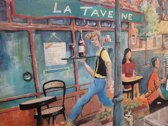 La Taverne: innenhof
