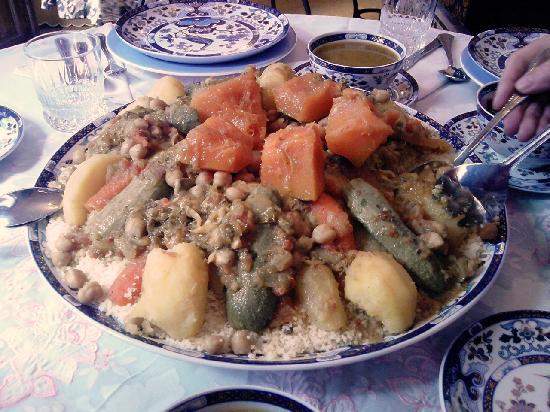 Riad Sesame: couscous