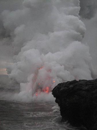 Mt. Kilauea : Getting closer