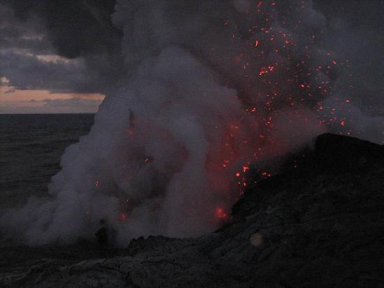 Mt. Kilauea : The lava flow