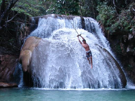Huatulco Waterfall Tour
