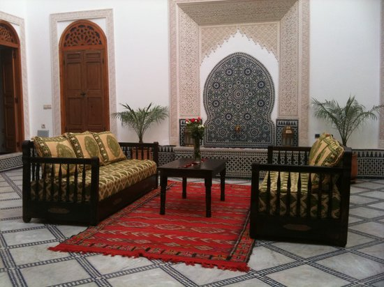 Patio riad boustan