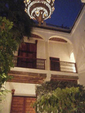 Riad l'Orangeraie: le patio