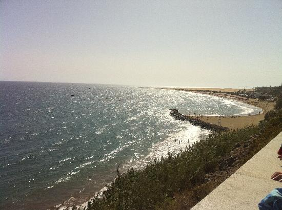 Caserio Bungalows: Local Beach