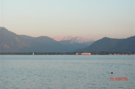 Chiemsee Schifffahrt: Sunset at Lake Chiemsee