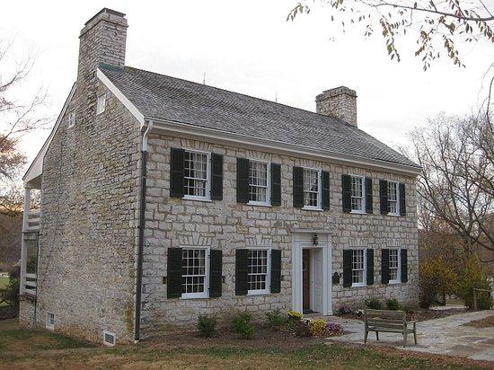 Defiance, Миссури: Nathan Boone house (Daniel's last home)