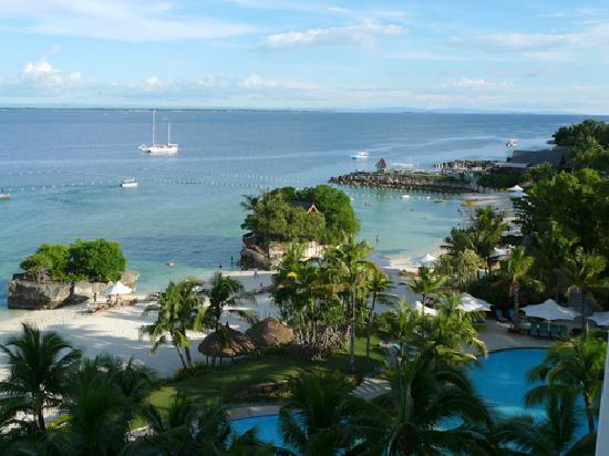 Shangri-La's Mactan Resort & Spa: パノラマスイートからの景色