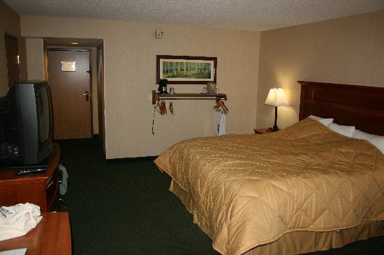Comfort Inn Near Vail Beaver Creek: Zimmer 130 Hotel Comfort Inn Vail Beaver Creek