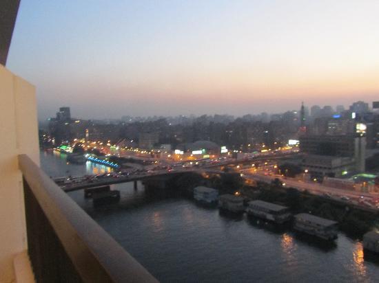 فندق ام كلثوم: View from the balcony