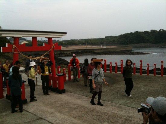 Minamikyushu, Nhật Bản: 手をつかってもいけません