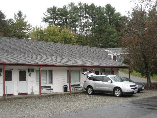 Maple Leaf Motel: Außenansicht im Oktober 2010