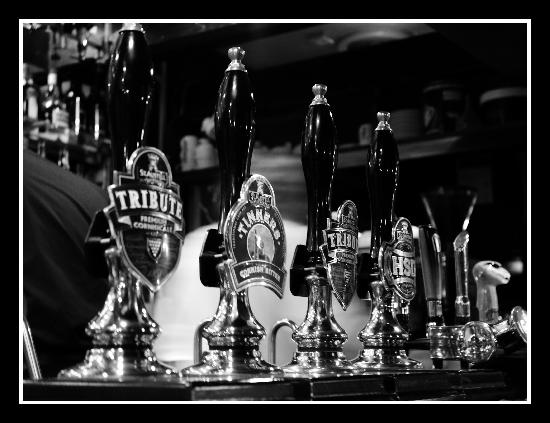 The Dolphin Tavern: Beer Selection