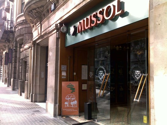 Mussol Diagonal: Small from outside, large inside