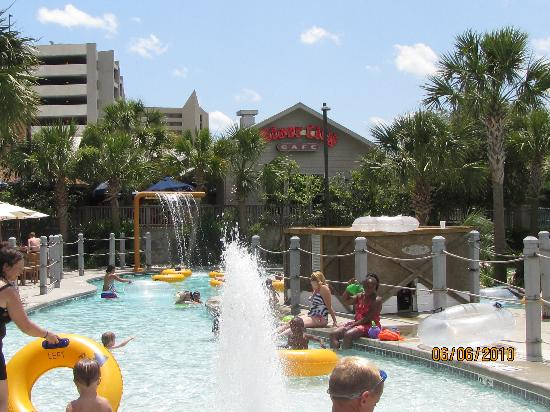 Waterpark And River City Cafe Picture Of Sand Dunes Resort