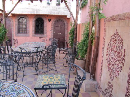 Hotel Salsabil: la terrasse, mon endroit préféré pendant le séjour;