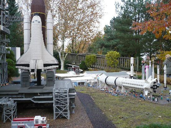Legoland Billund: Kennedy Space Centre in Lego