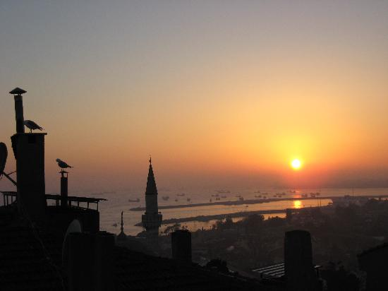 Ferman Sultan Hotel: The view from the hotel's roof.