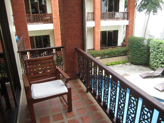 Sun Hill Hotel: Balkon
