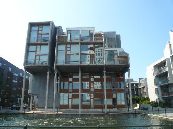 Malmö, Schweden: Modern building
