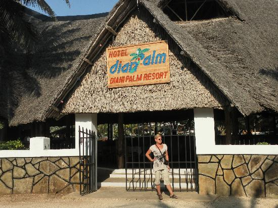 Hotel Diani Palm Resort: wejście do hotelu