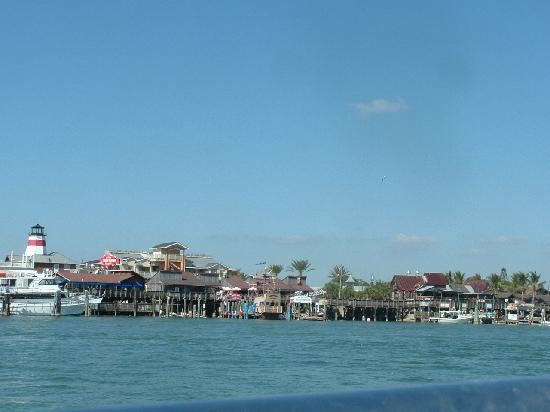 Treasure Island, FL: Vewi from the ocean