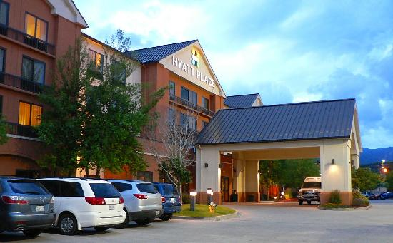 Exterior Of Hotel Picture Of Hyatt Place Colorado Springs Colorado Springs Tripadvisor